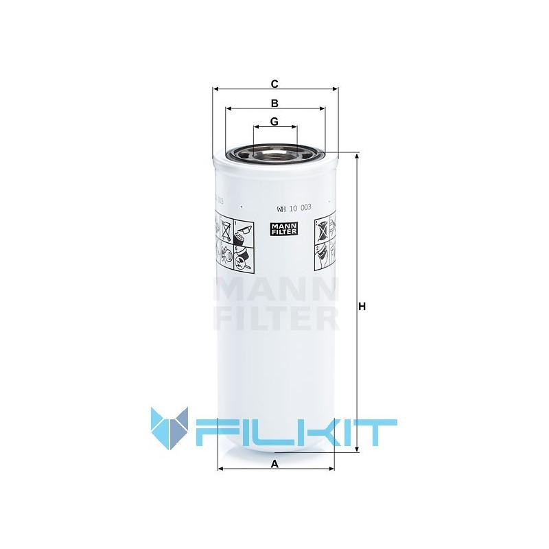 Hydraulic filter WH 10 003 [MANN]