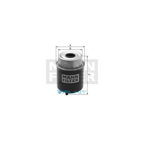 Fuel filter WK 8138 [MANN]