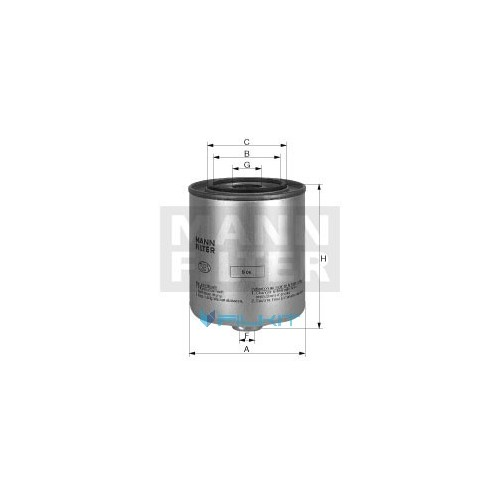 Fuel filter WK 8152 [MANN]