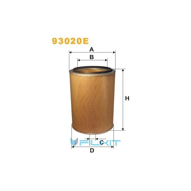 Air filter 93020E [WIX]