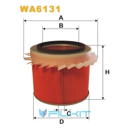 Фільтр повітряний WA6131 [WIX]