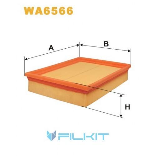 Фильтр воздушный WA6566 [WIX]