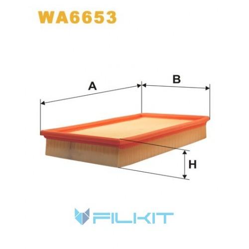 Фильтр воздушный WA6653 [WIX]