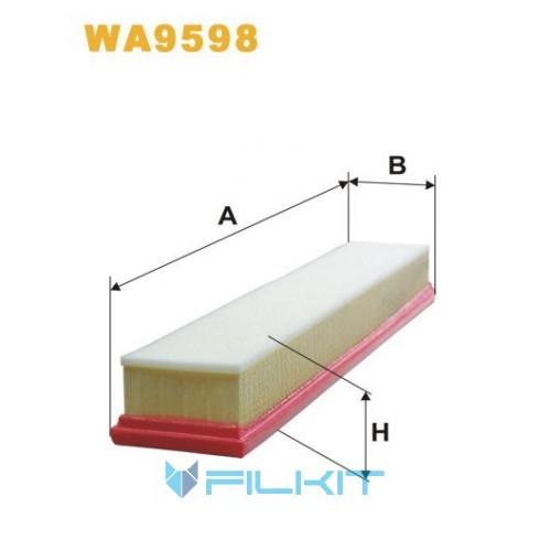 Фільтр повітряний WA9598 [WIX]
