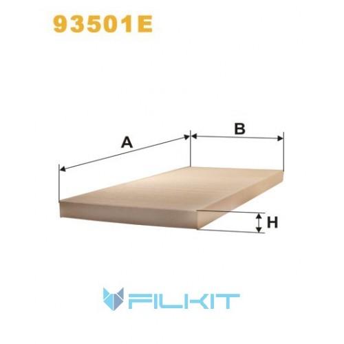 Фильтр салона (фильтр кабины) 93501E [WIX]
