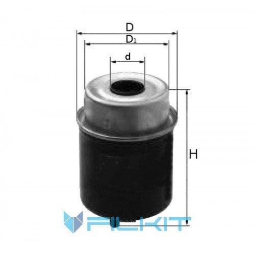 Фiльтр паливний Donaldson P 551421