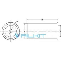 Air filter  [Donaldson]