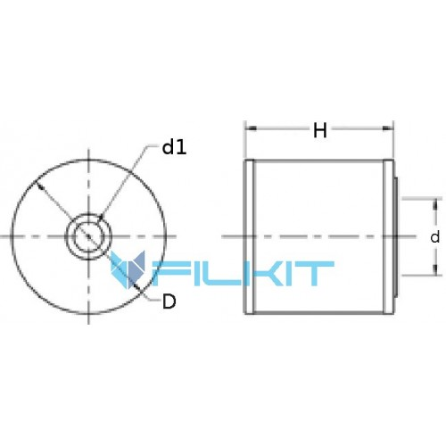 Air filter 46468 [WIX]