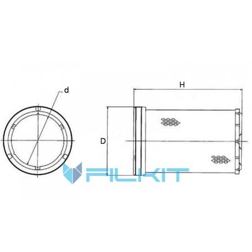 Air filter P777869 [Donaldson]