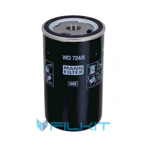 Hydraulic filter WD724/6 [MANN]
