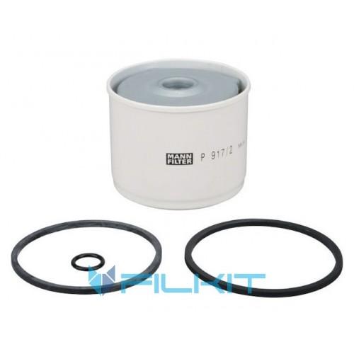 Fuel filter (insert) P917/2x [MANN]