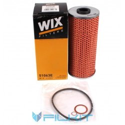 Oil filter (insert) 51063Е [WIX]