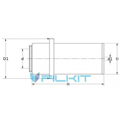 Air filter C21317 [MANN]
