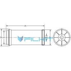 Air filter 46669Е [WIX]
