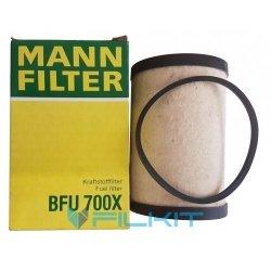 Fuel filter (insert) BFU 700 x [MANN]
