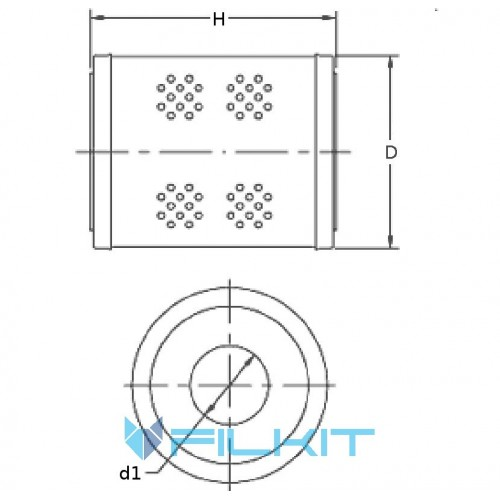 Filter on Compressor COMPAIR 210, Select filter for