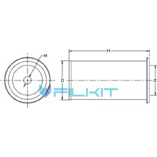 Air filter P181087 [Donaldson]
