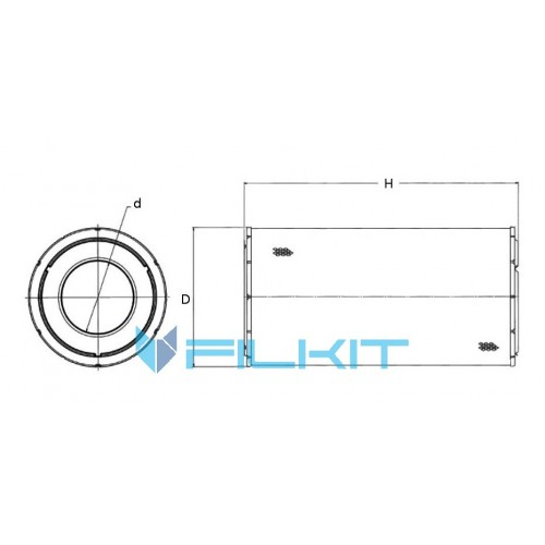 Air filter P781102 [Donaldson]