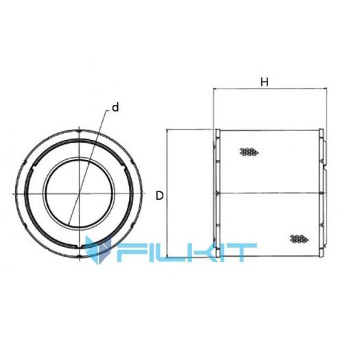 Air filter 42738 [WIX]