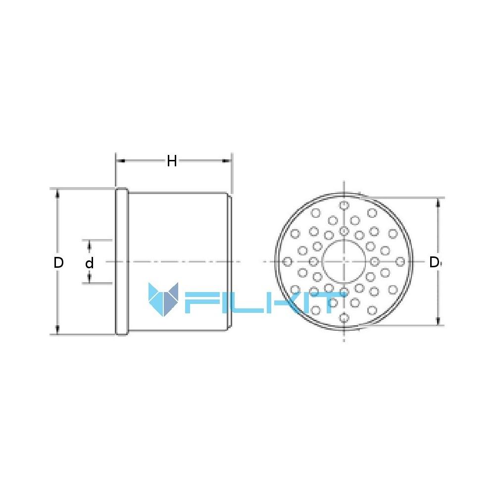 Donaldson Fuel Filter CartridgeP502420