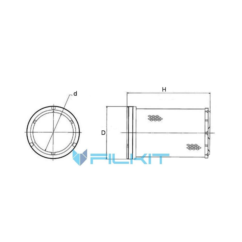 Air Filter Wix 46665