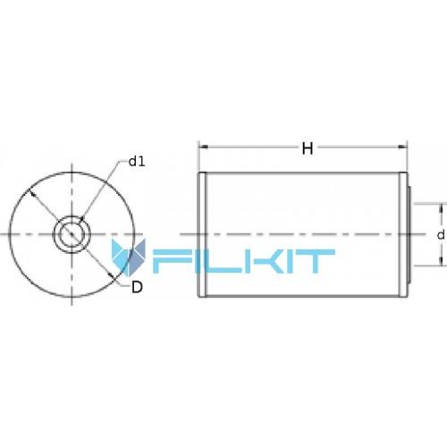 Air filter 42481 [WIX]