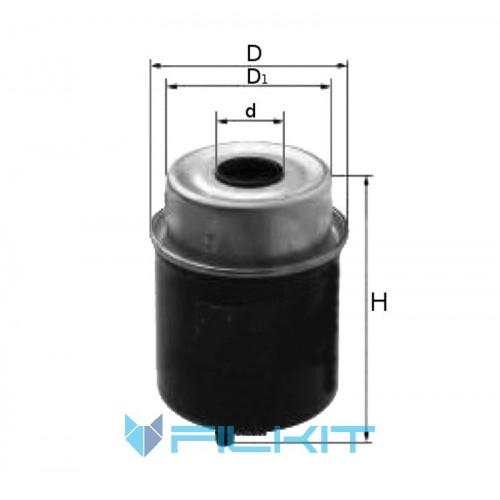 Фiльтр паливний Donaldson P 551435