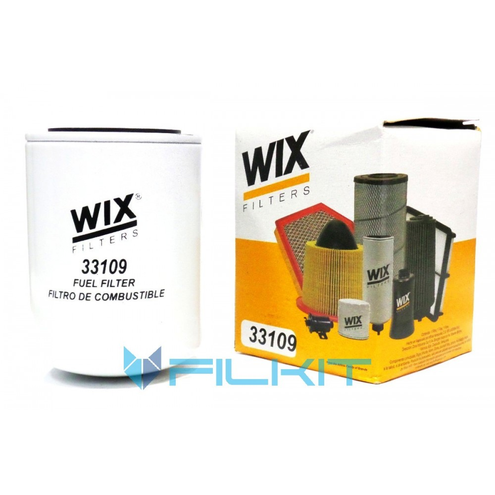 Fuel filter 40 [WIX], OEM 40 WIX, for CASE, CUMMINS, Massey ...