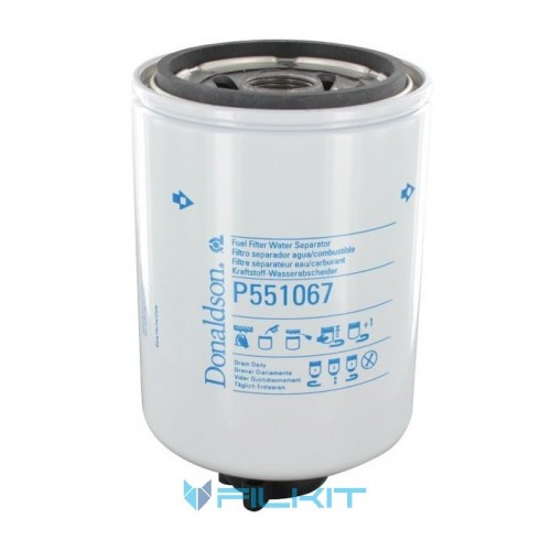 Фiльтр паливний Donaldson P 551067