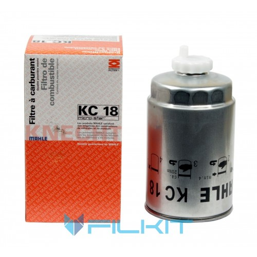Knecht KC 256D Filtres