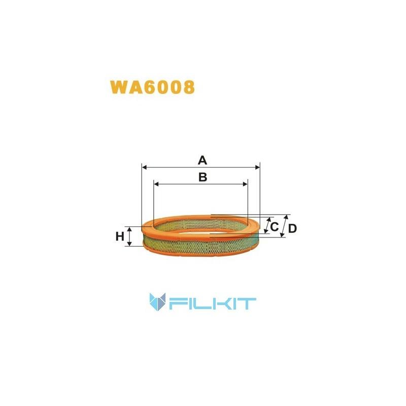 Air filter WA6008 [WIX]