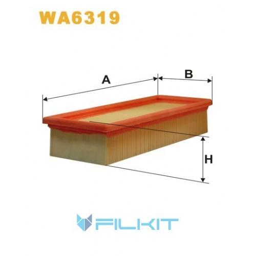 Фильтр воздушный WA6319 [WIX]