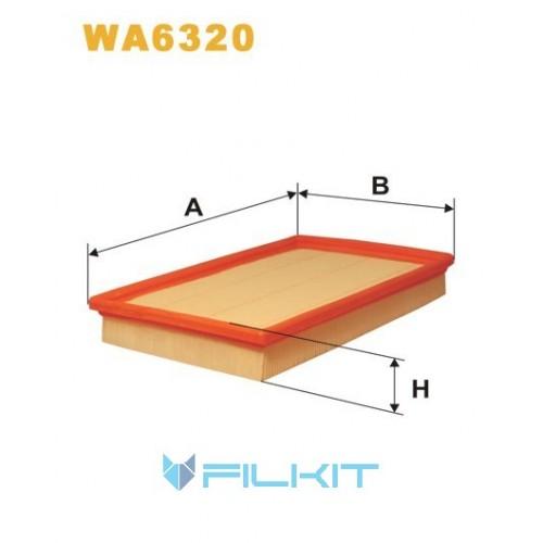 Фільтр повітряний WA6320 [WIX]