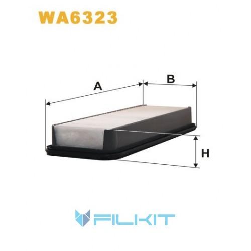 Фільтр повітряний WA6323 [WIX]