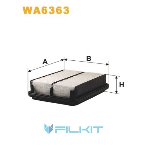 Air filter WA6363 [WIX]