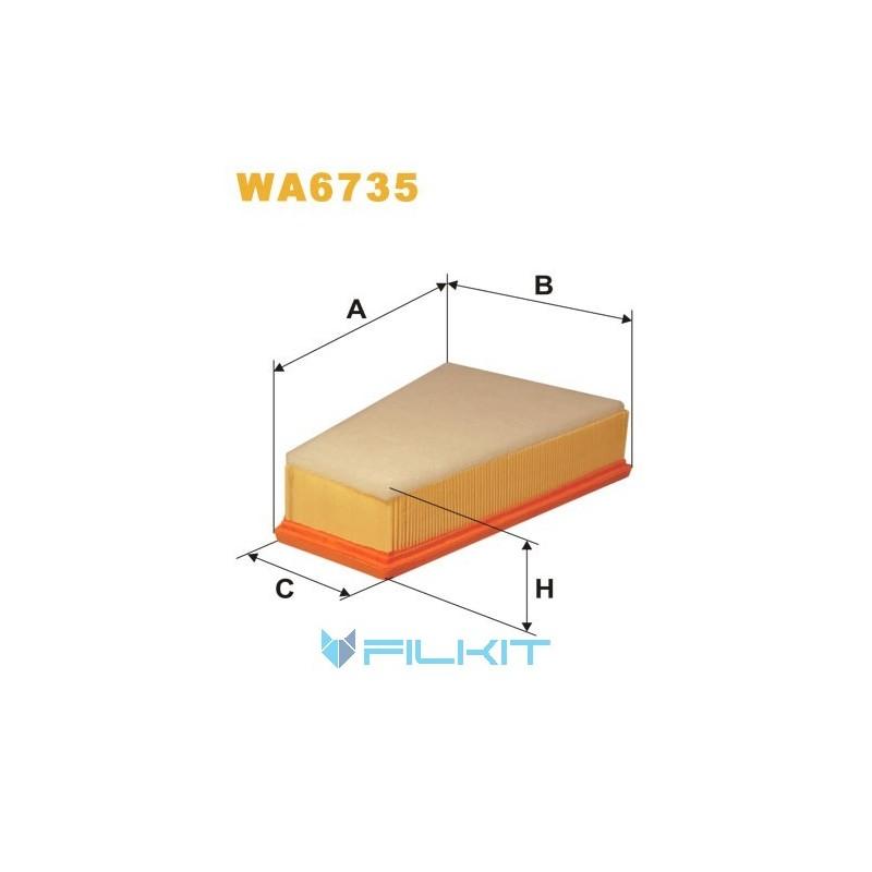 Air filter WA6735 [WIX]