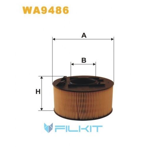 Фільтр повітряний WA9486 [WIX]