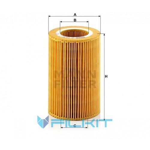 Air filter C 1036/1 [MANN]