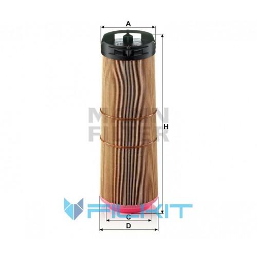Air filter C 12 133/1 [MANN]