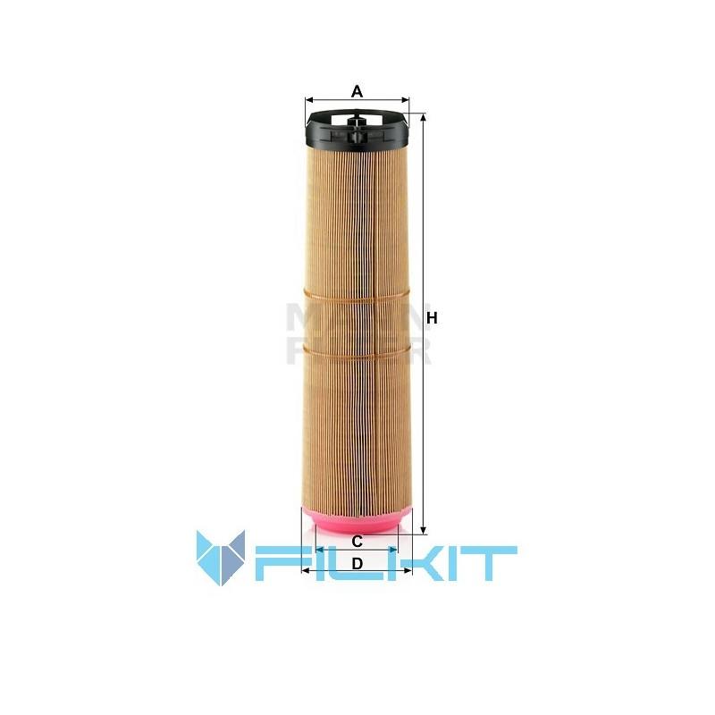 Air filter C 12 178/1 [MANN]