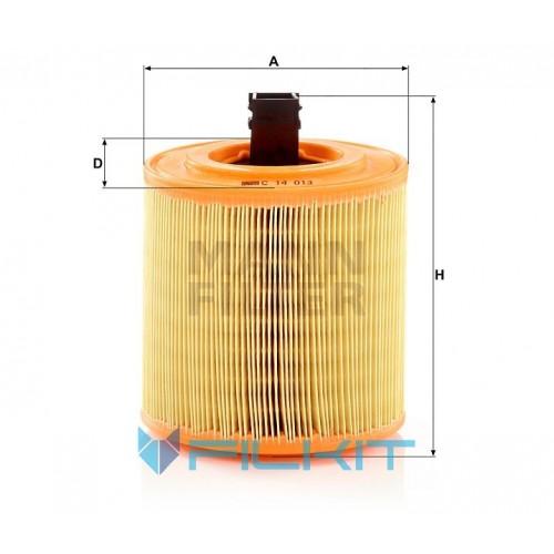 Air filter C 14 013 [MANN]