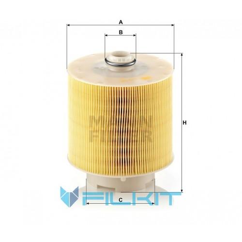 Фильтр воздушный C 17 137 x [MANN]