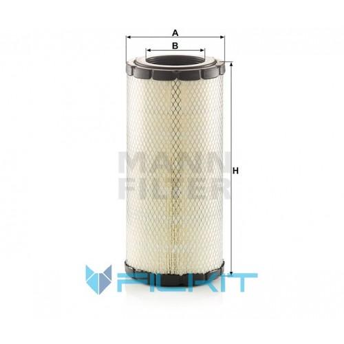 Air filter C 19 005 [MANN]