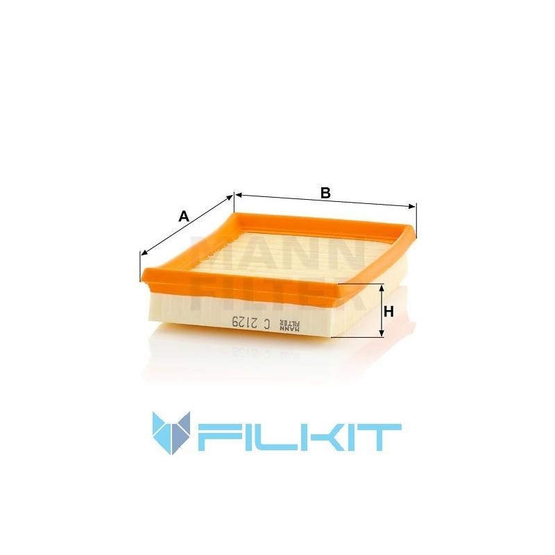 Air filter C 2129 [MANN]