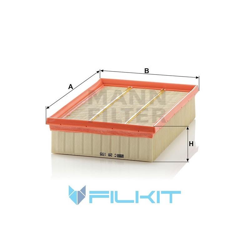 Air filter C 28 155 [MANN]