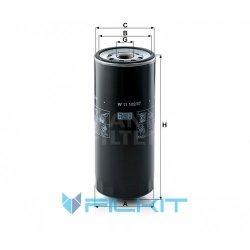 Oil filter W 11 102/37 [MANN]