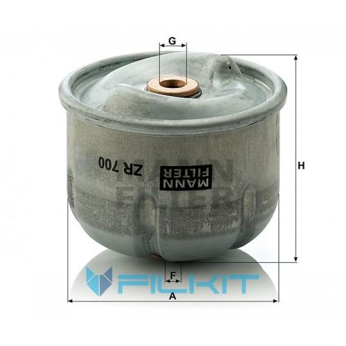 Oil filter ZR 700 x [MANN]