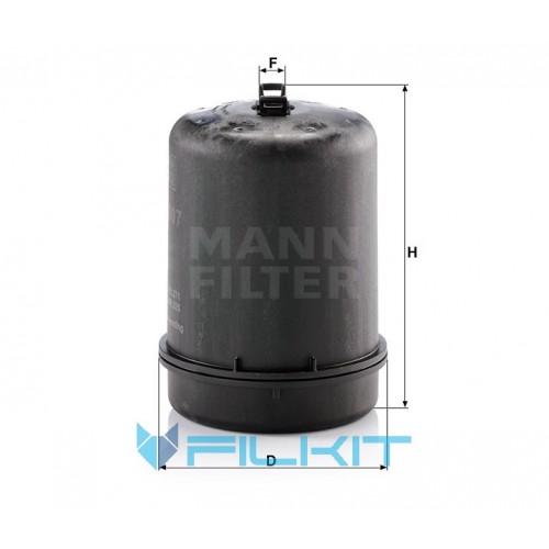 Oil filter ZR 9007 z [MANN]