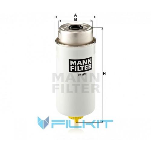 Fuel filter WK 8105 [MANN]