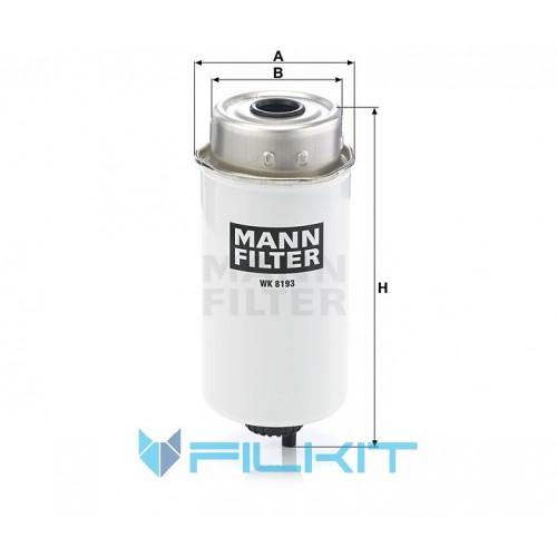 Fuel filter WK 8193 [MANN]